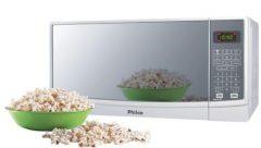 Micro-ondas Philco PME22 20 Litros com Timer Branco Espelhado